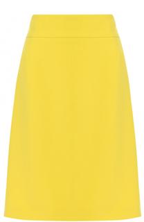 Юбка-карандаш с широким поясом BOSS