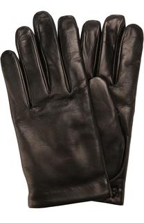 Кожаные перчатки с кашемировой подкладкой Brioni