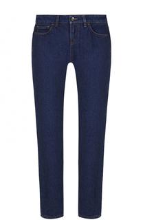 Укороченные джинсы прямого кроя Dolce & Gabbana