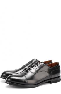 Классические кожаные оксфорды W.Gibbs