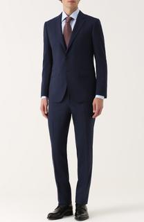 Шерстяной костюм с пиджаком на двух пуговицах Lanvin
