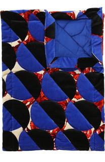 Хлопковый шарф с принтом Dries Van Noten