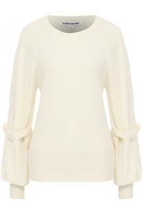 Вязаный пуловер с декоративной отделкой Elizabeth and James