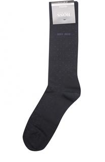 Хлопковые носки с узором BOSS