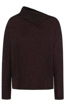 Кашемировый пуловер с отложным воротником Kiton