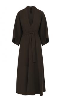 Приталенное платье-миди с поясом Tome