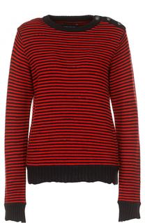 Вязаный пуловер в контрастную полоску Zadig&Voltaire Zadig&Voltaire