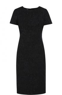 Приталенное платье с фактурной отделкой Kiton