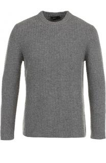 Кашемировый свитер фактурной вязки Joseph