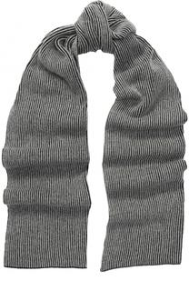 Вязаный шарф из смеси шерсти и кашемира Inverni