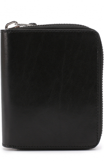 Кожаное портмоне на молнии с отделениями для кредитных карт и монет Rick Owens