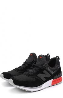 Комбинированные кроссовки 574 New Balance
