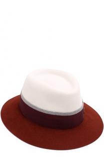 Фетровая шляпа Andre с лентой Maison Michel