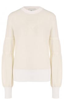 Вязаный пуловер с объемными рукавами 3.1 Phillip Lim