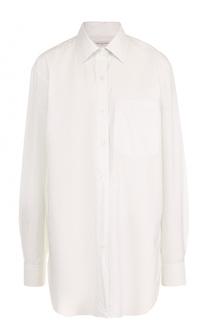 Хлопковая блуза свободного кроя Dries Van Noten