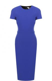 Платье-футляр с коротким рукавом Victoria Beckham