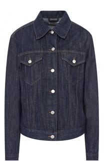 Джинсовая куртка прямого кроя Dries Van Noten