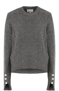 Вязаный пуловер с декоративной отделкой 3.1 Phillip Lim