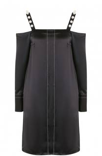 Шелковое платье-миди с открытыми плечами 3.1 Phillip Lim