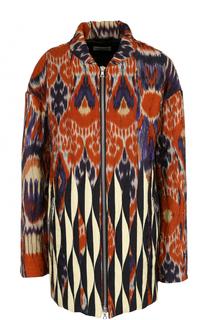 Куртка свободного кроя с принтом Dries Van Noten