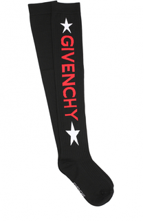 Шерстяные носки с логотипом бренда Givenchy