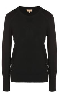 Вязаный пуловер из шерсти Burberry