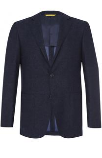 Шерстяной однобортныц пиджак Canali