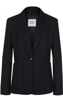 Однобортный приталенный пиджак из шерсти Weill