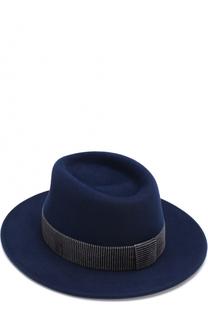 Фетровая шляпа Thadee с лентой Maison Michel