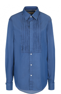 Хлопковая блуза с декоративной отделкой Burberry