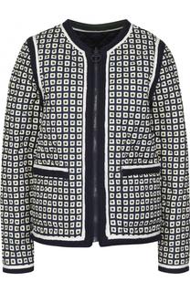 Двустороння куртка на молнии Tory Burch
