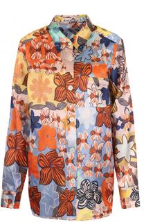 Блуза прямого кроя с принтом Acne Studios
