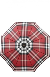 Складной зонт в клетку Burberry