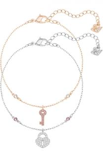 Комплект браслетов Crystal Wishes Key Swarovski