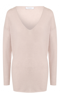 Кашемировый пуловер с V-образным вырезом Cruciani
