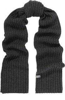 Кашемировый шарф фактурной вязки FTC