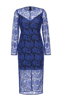 Платье-миди с кружевной отделкой Diane Von Furstenberg