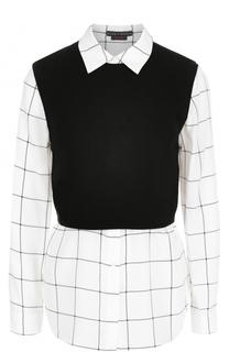 Комплект из блузы и топа Alice + Olivia