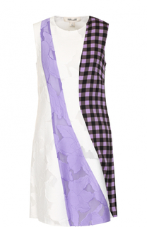 Мини-платье с декоративной отделкой Diane Von Furstenberg