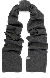 Кашемировый шарф тонкой вязки FTC