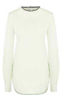 Блуза прямого кроя с декоративной отделкой Victoria by Victoria Beckham