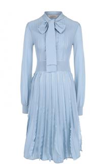 Вязаное шерстяное платье-миди Valentino