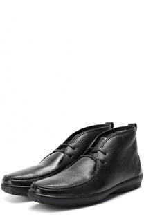 Кожаные ботинки на шнуровке Aldo Brue