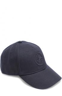 Бейсболка с логотипом бренда Stone Island