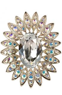 Брошь с кристаллами Swarovski St. John
