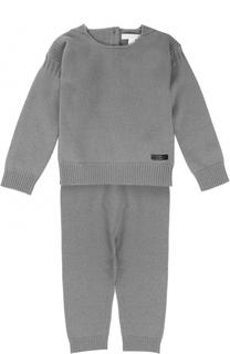 Кашемировый комплект из пуловера и брюк Burberry