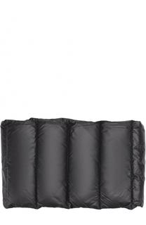 Пуховый стеганый шарф Balenciaga