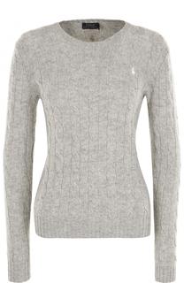 Шерстяной пуловер с круглым вырезом Polo Ralph Lauren