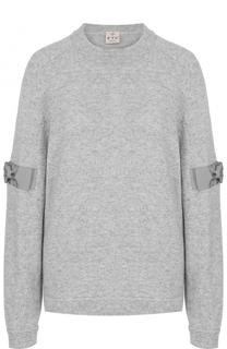 Пуловер из смеси кашемира и лиоселла FTC