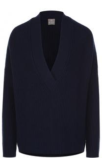 Кашемировый пуловер свободного кроя FTC